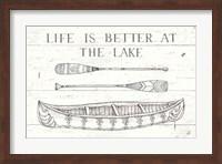 Framed Lake Sketches II