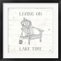 Framed Lake Sketches IV