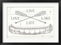 Framed Lake Sketches III