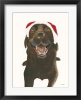 Framed Santa Oscar