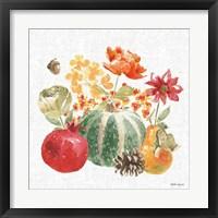 Framed Harvest Bouquet V