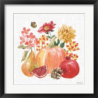 Framed Harvest Bouquet VI