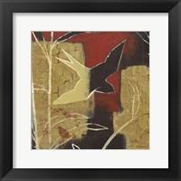 Framed Sun Stems Tile I
