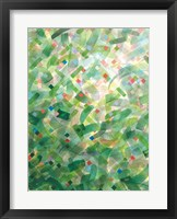 Framed Jungle Abstract I
