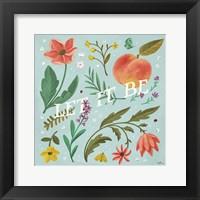 Framed Spring Botanical V