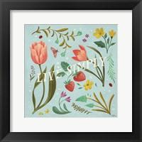 Framed Spring Botanical VI