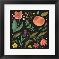 Framed Spring Botanical II Black
