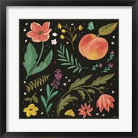 Spring Botanical II Black Framed Print