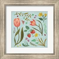 Framed Spring Botanical III