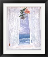 Framed Open Curtains