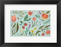Framed Spring Botanical I