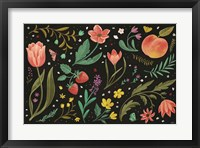 Spring Botanical I Black Framed Print