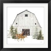 Framed Wooded Holiday VI