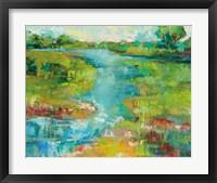 Framed Spring Marsh