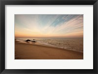 Framed Marthas Vineyard Beach II