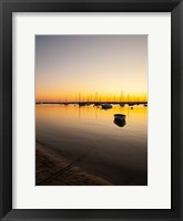Framed Marthas Vineyard Sunset I