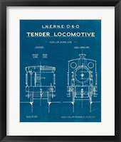 Framed Locomotive Blueprint III