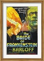 Framed Bride of Frankenstein