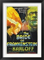 Framed Bride of Frankenstein