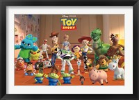 Framed Toy Story Crew