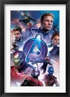Framed Avengers Endgame