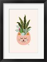 Framed Cats and Plants