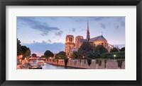 Framed River View - Notre Dame