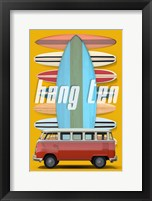 Framed Hang Ten