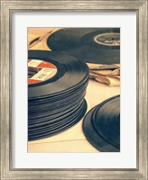 Framed Old 45s