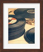 Framed Old 45s