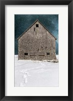 Framed Old Barn