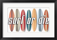 Framed Surf of Die