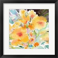 Framed Yellow Bouquet