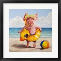Framed Baked Ham