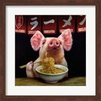 Framed Oodles of Noodles