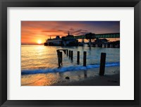 Framed Ferry at Dock, Edmonds, WA