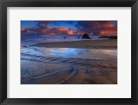 Framed Haystack Rock, Cannon Beach