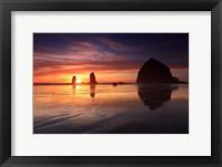 Framed Haystack Rock, Oregon