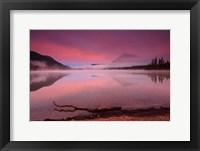 Framed Lake Wenatchee, WA