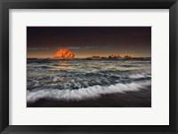 Framed Sunrise Face Rock, Oregon
