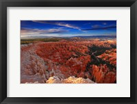 Framed Sunset, Bryce Canyon