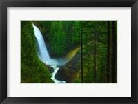 Framed Wallace Falls, WA
