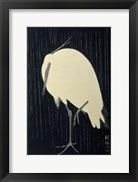 Framed Egret in the Rain, 1925-1936