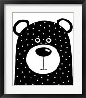 Framed Bean Bear