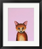 Framed Little Fox