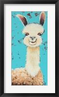 Framed Llama Sue