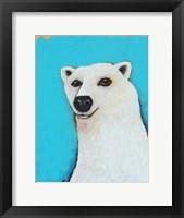 Framed Cute Polar Bear