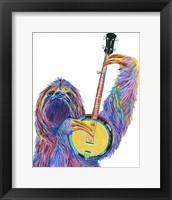 Framed Slow Banjo