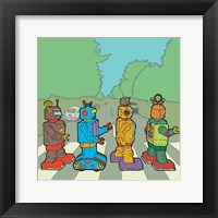 Framed Abbey Road Bots