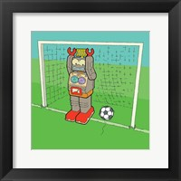 Framed Goalie Bot